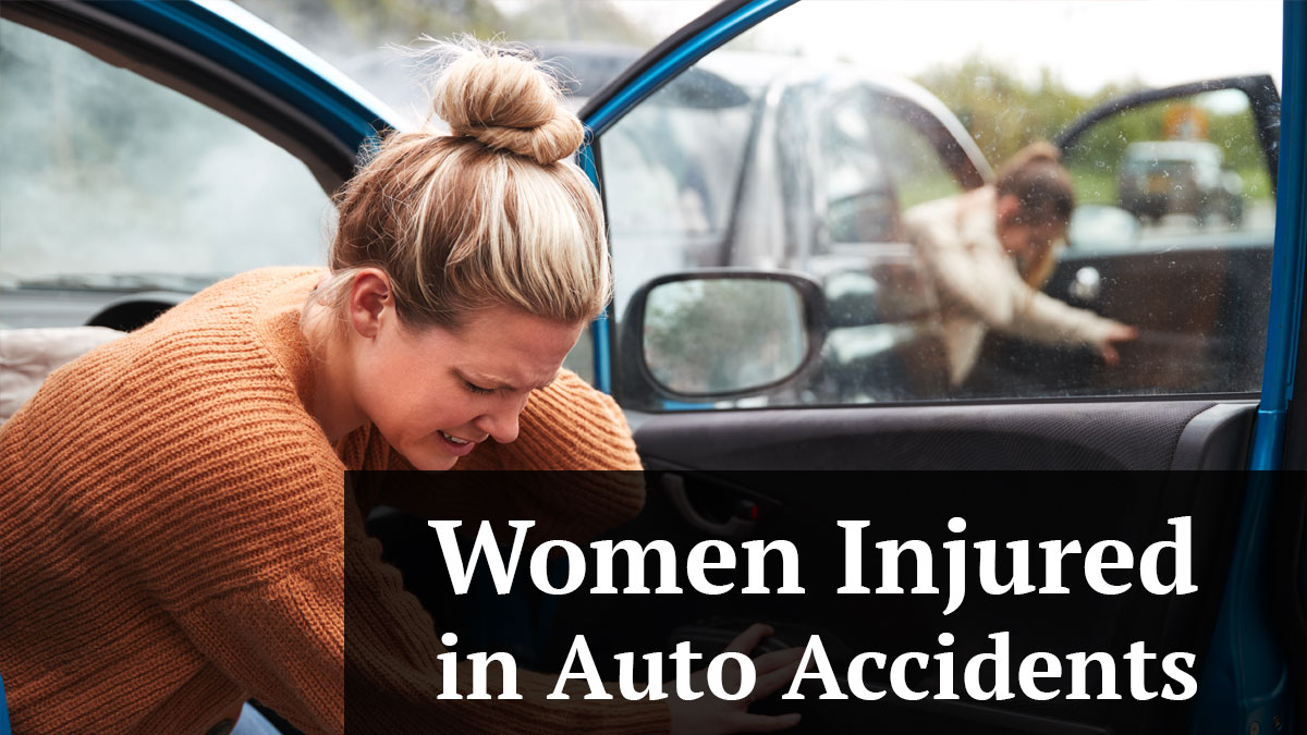 Are Women Injured More Often in Auto Accidents?